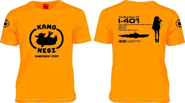 Ark Performance「蒼き鋼のアルペジオ」の「KAMONEGI Tシャツ」。3500円。