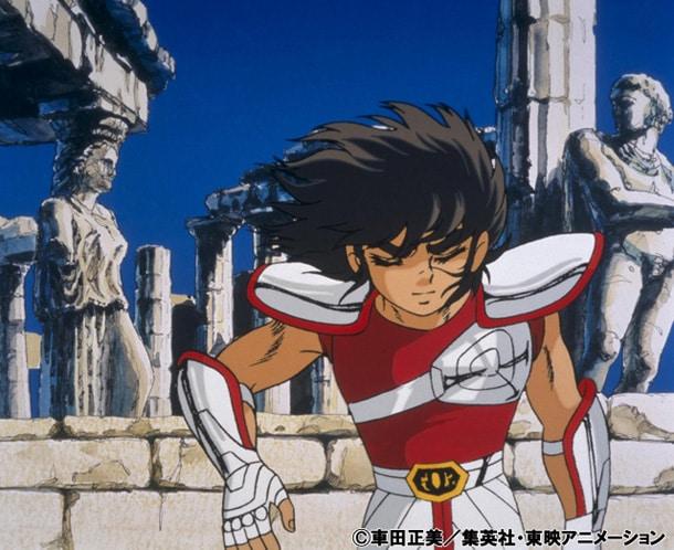 アニメ「聖闘士星矢」より。(c)車田正美/集英社・東映アニメーション