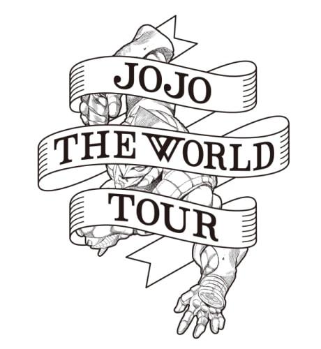 「JOJO THE WORLD TOUR」のロゴ。