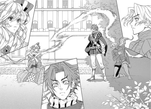 「RE:BORN ~仮面の男とリボンの騎士~」より。