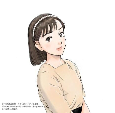 浦沢直樹描き下ろしによるジャケットイラスト。 (c)1989 浦沢直樹, スタジオナッツ/小学館 (c)1989 Naoki Urasawa, Studio Nuts / Shogakukan (c)1989 N.U, S.N / S