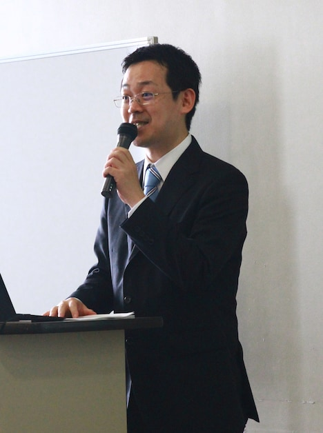 Jコミの代表取締役・赤松健。