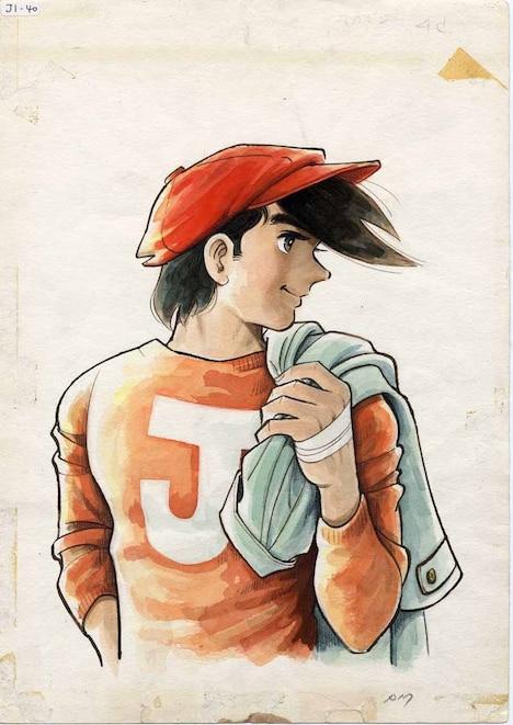 「あしたのジョー、の時代展」のポスターに使用されたイラスト(週刊少年マガジン1971年4月18日号表紙絵原画 ちばてつやプロダクション蔵)(c)高森朝雄・ちばてつや/講談社