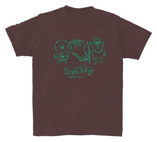 朝倉世界一Tシャツ「bubbly」のチョコレート。