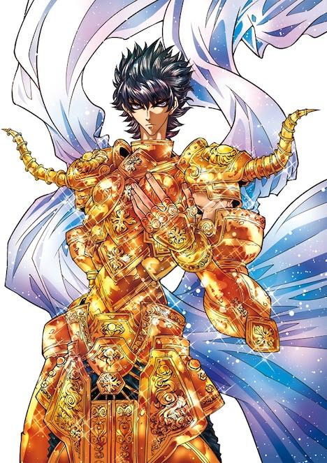 車田正美原作による岡田芽武「聖闘士星矢EPISODE.G~アサシン~」のカット。