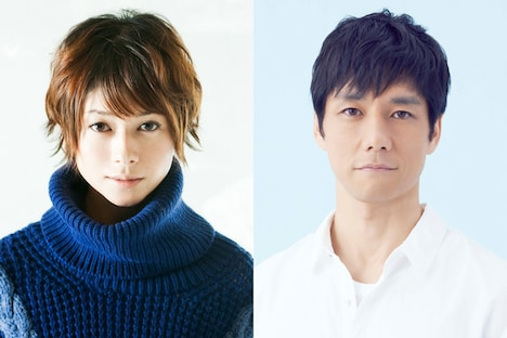 櫻井いちこ役の真木よう子(左)と、吉田役の西島秀俊。