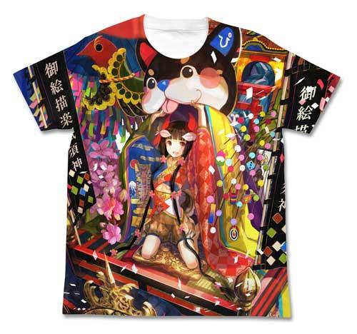 「pixiv祭」でコスパが販売する「pixiv祭 藤ちょこフルグラフィックTシャツ」。会場には10月29日に入荷される予定。(C)2014 pixiv illustration by 藤ちょこ