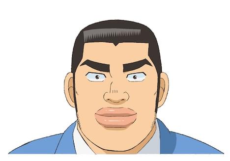 剛田猛男の設定画。(c)アルコ・河原和音/集英社・「俺物語!!」製作委員会