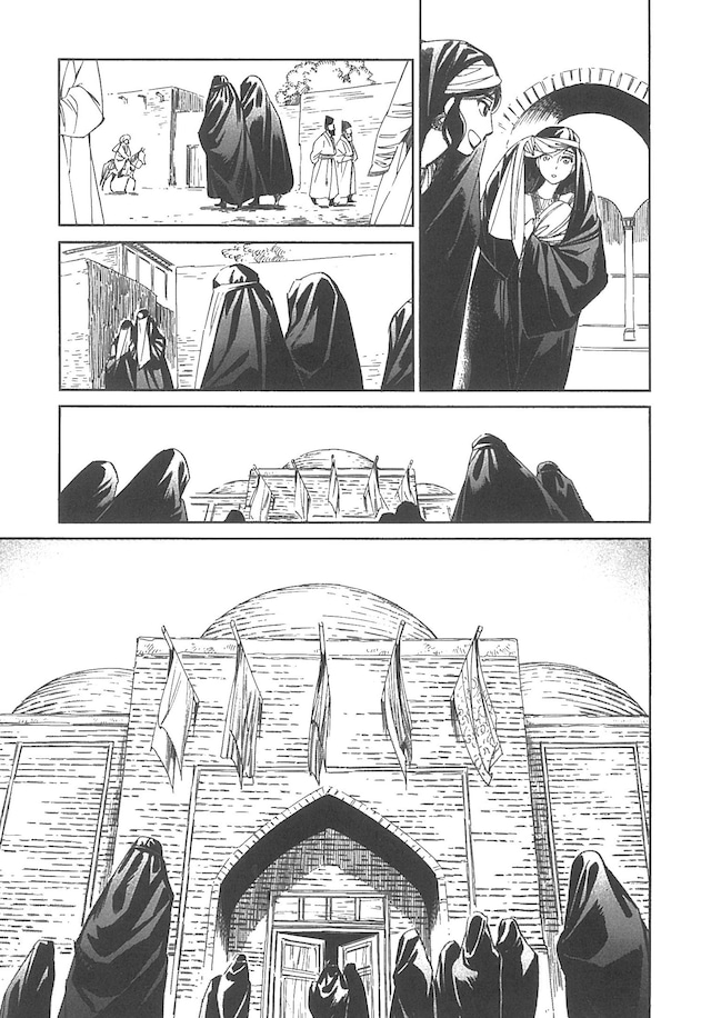 「乙嫁語り」7巻より。
