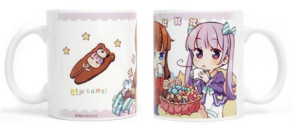 「NEW GAME! フルカラーマグカップ」 (c)得能正太郎/芳文社
