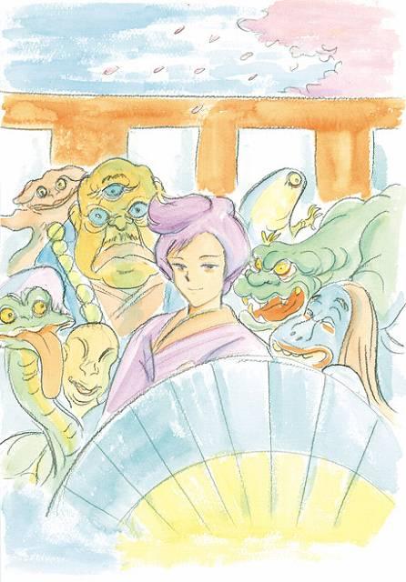「マジカル・高橋 葉介・ツアー -高橋葉介初期傑作短編集」収録のイラストより。