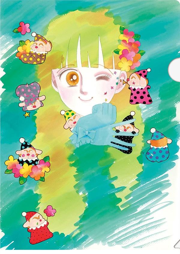 「ときめきトゥナイト」のクリアファイル。(c)池野恋/集英社・りぼん