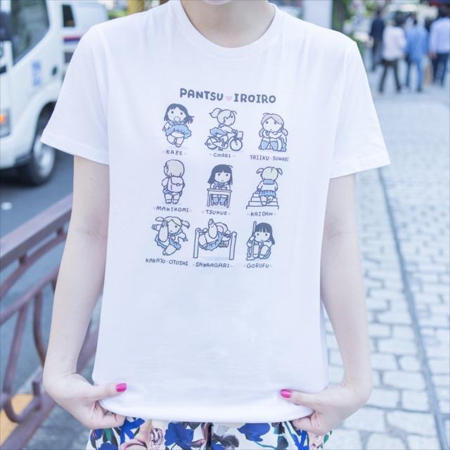 うさくんがイラストを手がけたパンチラTシャツ。