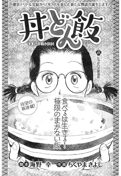 「丼どん飯」扉ページ