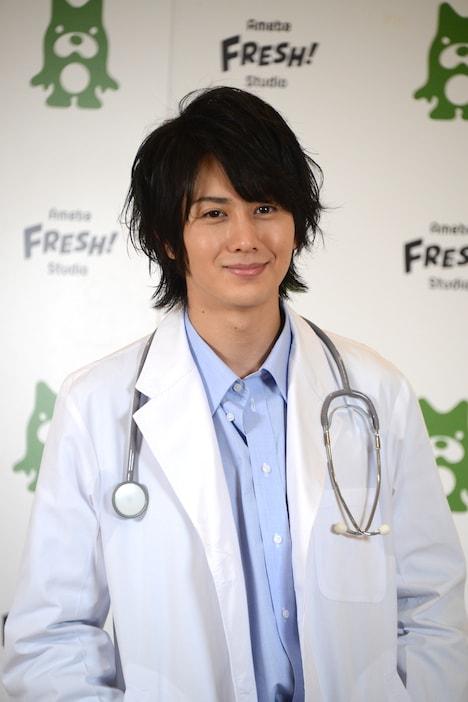 クールなツンデレ医者を演じた太田基裕。
