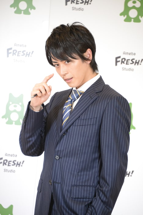 セクシーなドS社長を演じた廣瀬智紀。