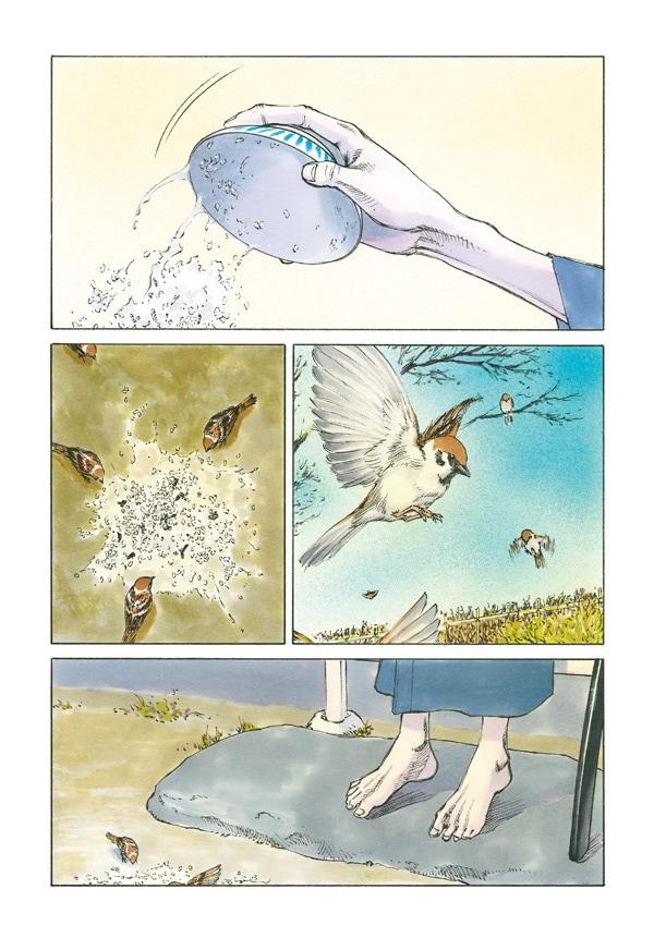 幸村誠が幕末の志士を描いた読み切り「さようならが近いので」より。