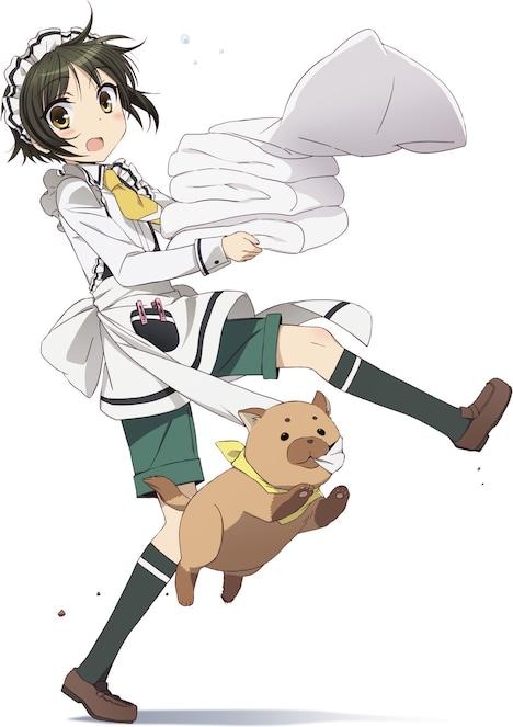 TVアニメ「少年メイド」のキービジュアル。