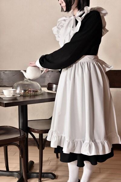 「シャーリー メイド服」の着用例。