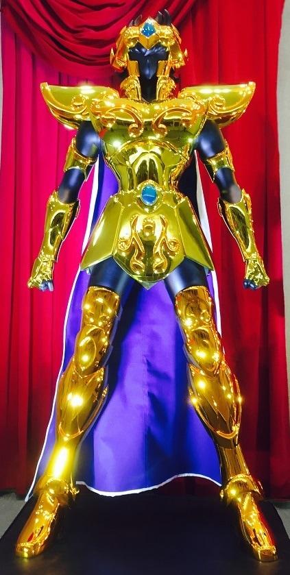 制作済みの、獅子座(レオ)のアイオリア立像。