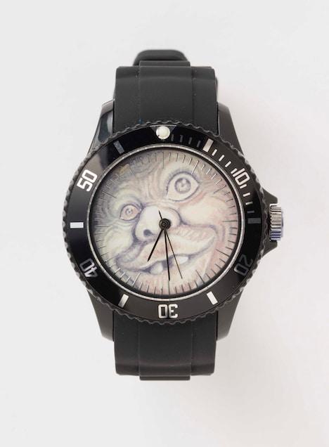 「まん○画太郎描きおろしババアの鼻毛時計」