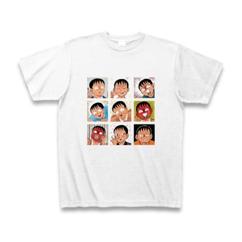 「清野とおる九面相 Tシャツ」