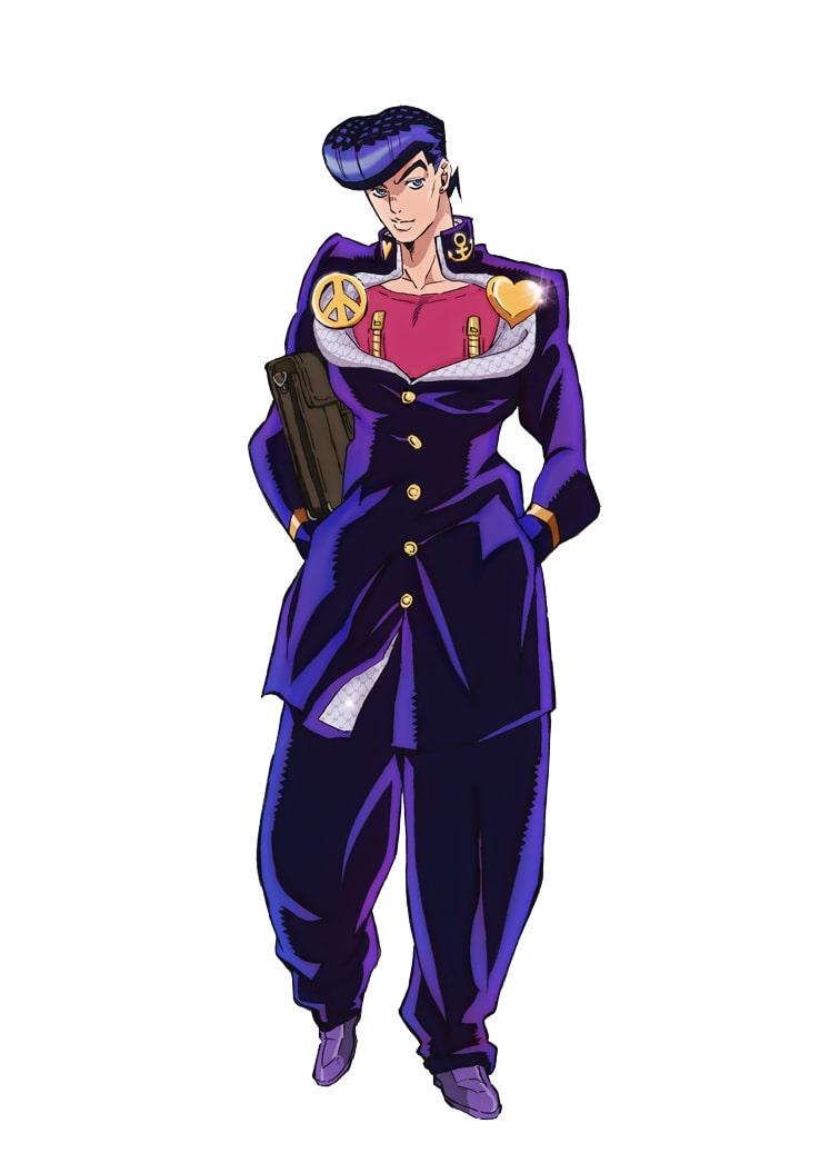 アニメ ジョジョ 4部 仗助や露伴 承太郎ら6キャラ分の新ビジュアル