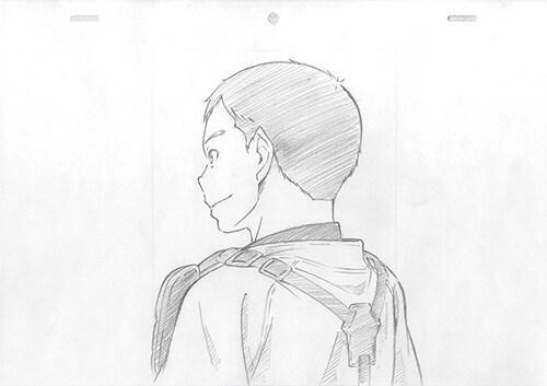 キャラクターデザイン・草間英興が描いた、永倉豪(CV:畠中祐)。