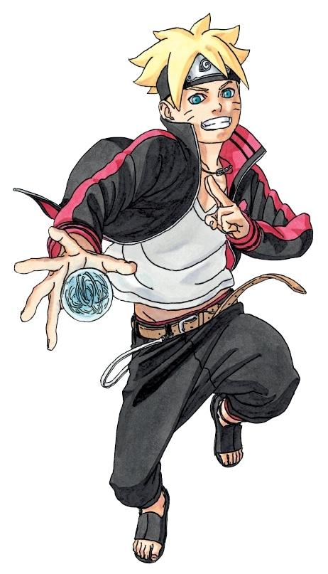 「BORUTO-ボルト- -NARUTO NEXT GENERATIONS-」のカット。(c)岸本斉史・池本幹雄 スコット/集英社