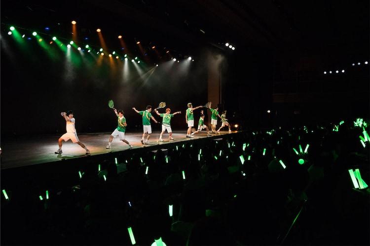 「TEAM Live YAMABUKI」より、第2部ショートライブの様子。