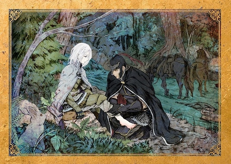 ミニ朗読劇第1章「少年ひとり、騎士ひとり」のビジュアル。