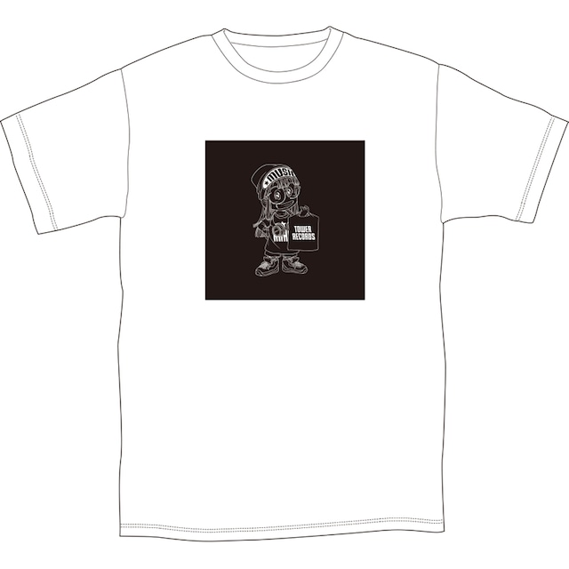 「Dr.スランプ アラレちゃん × TOWER RECORDS CAFE T-shirt」(Black)