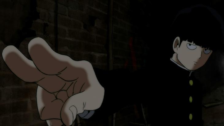 テレビアニメ「モブサイコ100」場面カット
