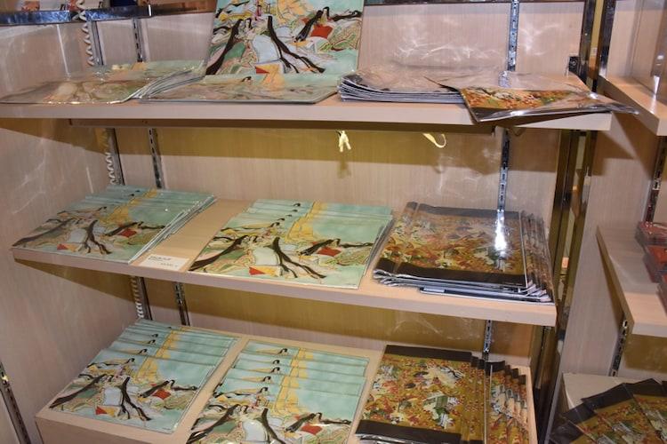 「大和和紀画業50周年記念原画展 in 東武百貨店池袋店」の様子。