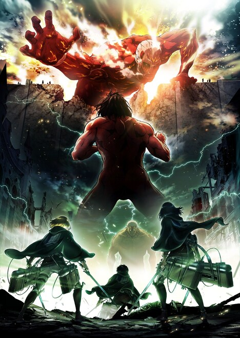 「進撃の巨人 Season2」新ビジュアル