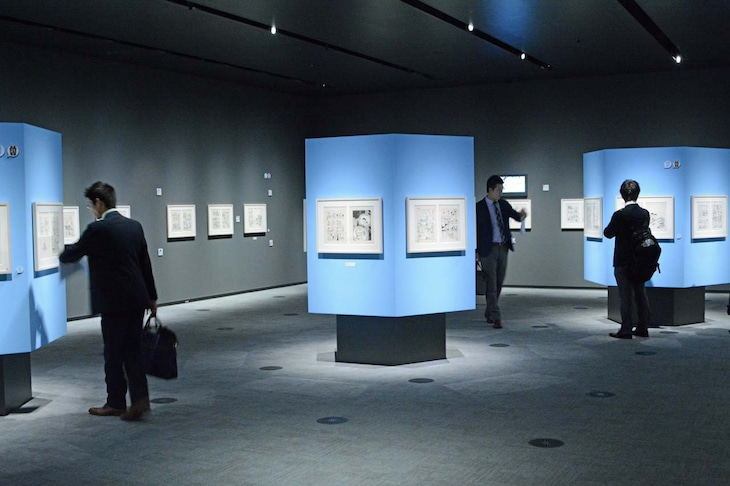 「ドラえもん名作原画展 ミュージアムセレクション」の様子。 (c)Fujiko-Pro