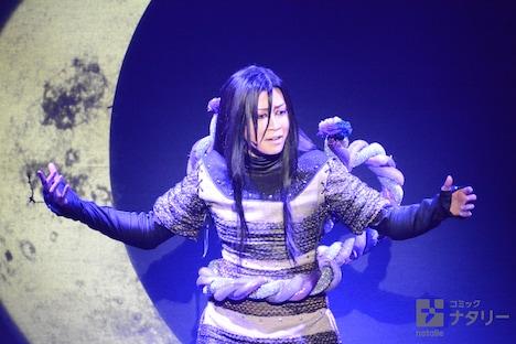 「ライブ・スペクタクル『NARUTO-ナルト-』」ゲネプロの様子。悠未ひろ演じる大蛇丸。