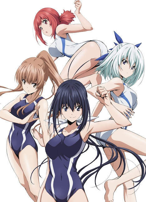 テレビアニメ「競女!!!!!!!!」ビジュアル