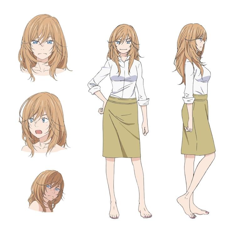 幸田香子(CV:井上麻里奈)の設定画。