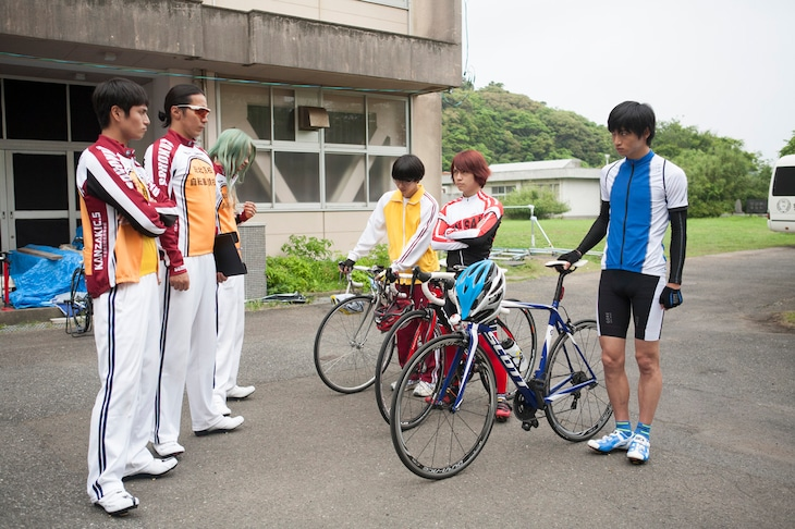 ドラマ「弱虫ペダル」第4話場面写真