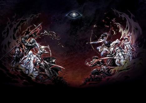 アニメ「ドリフターズ」ビジュアル