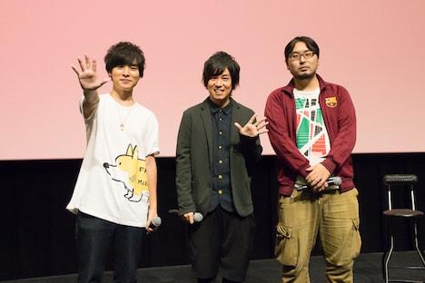 左から岡本信彦、山下大輝、門司健吾氏。