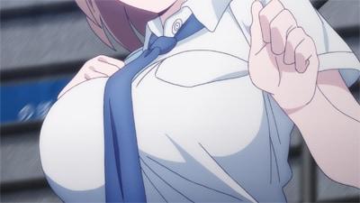 アニメ「月曜日のたわわ」第1話より。