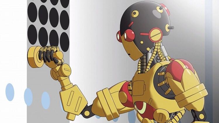 「アトム ザ・ビギニング」高専ロボコンとのコラボ映像のワンシーン。