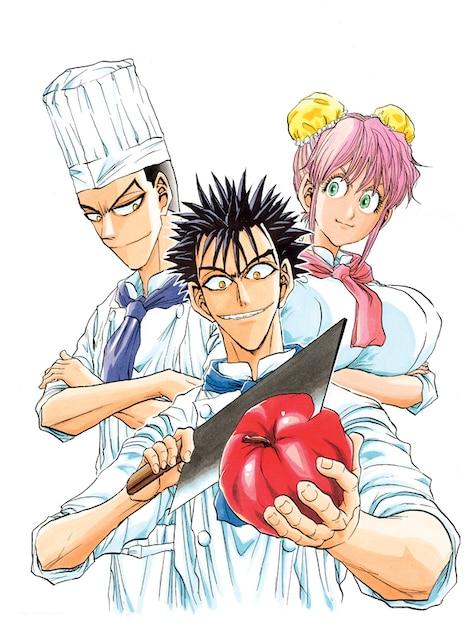 「鉄鍋のジャン!! 2nd」予告カット