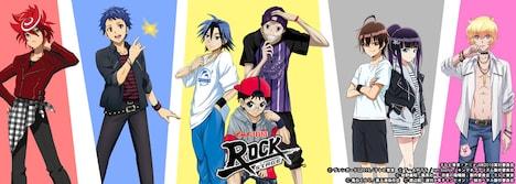 「アニメJAM2016 Rock Stage」のビジュアル。