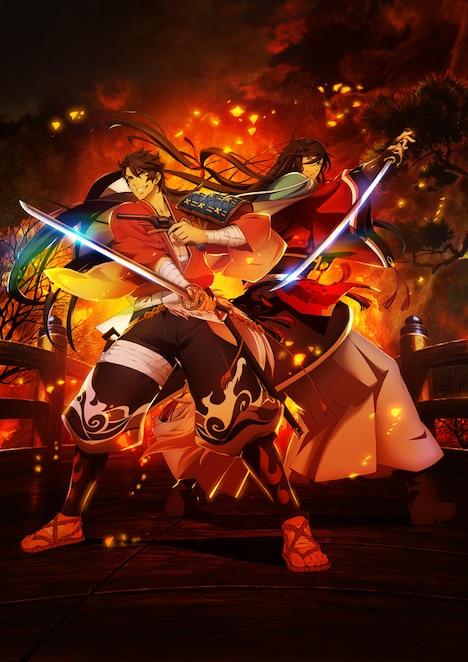 「活撃 刀剣乱舞」第1弾キービジュアル