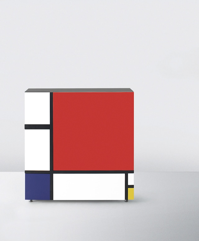 倉俣史朗「Homage to Mondrian #1」(1975年/Cappellini 2009)(c)KURAMATA DESIGN OFFICE, Special Cooperation with Cappellini Point Tokyo_Team Iwakiri Products