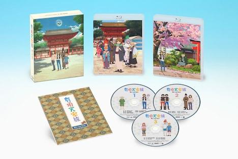 3月24日にリリースされる「有頂天家族 Blu-ray Box」の展開図。