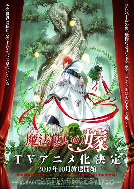 テレビアニメ「魔法使いの嫁」第1弾ビジュアル